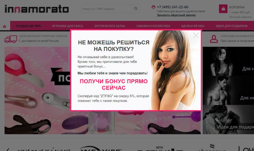 Интернет-магазин как бизнес: практический опыт владельца секс-шопа