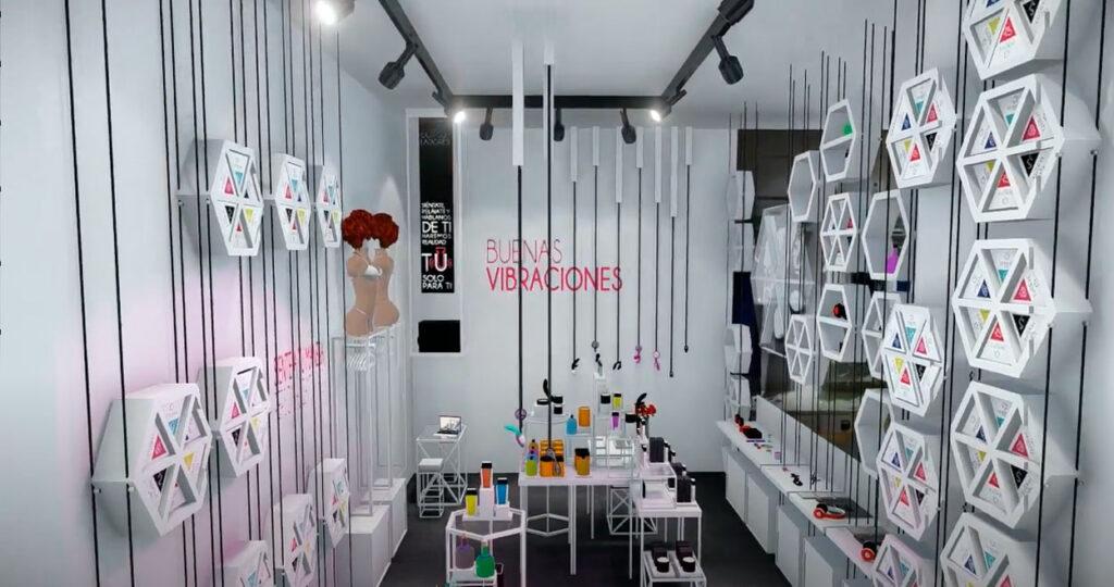Секс-шоп: интерьер магазина