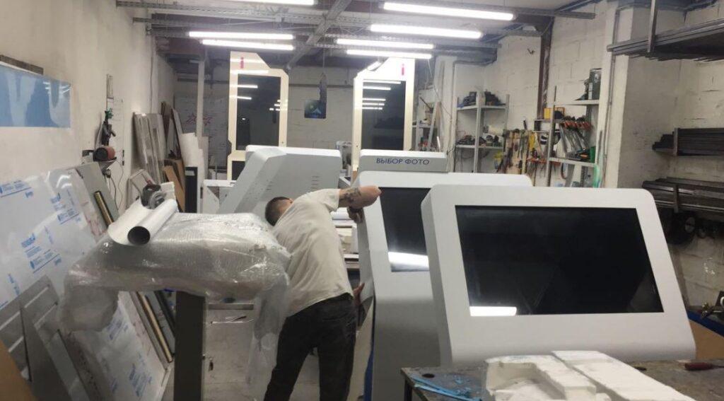 """Первый сборочный цех """"Фабрики инноваций"""" размещался в гараже торгового центра на Кутузовском проспекте"""