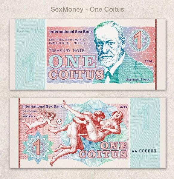 Бизнес-идея — коллекционные секс-деньги: один коитус