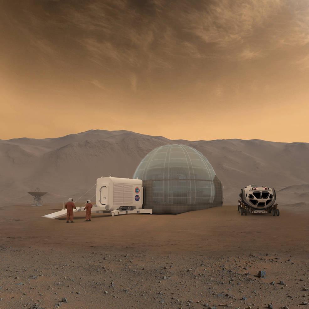 Ice Dome — проект учёных NASA
