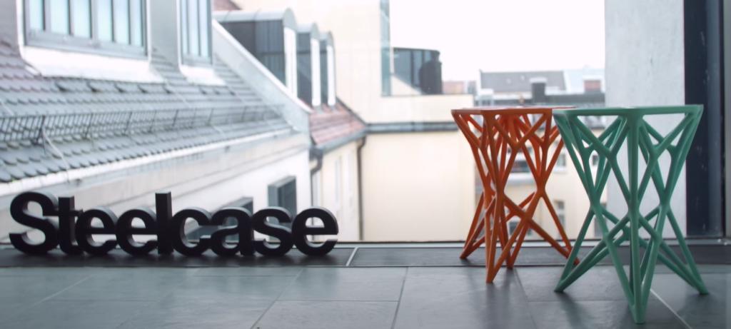 Мебель, напечатанная на 3D принтере, отличается прочностью и футуристическим дизайном — для интерьера марсианского кафе самое то