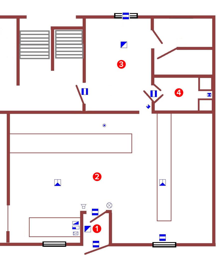 Пример обеспечения безопасности ювелирного магазина
